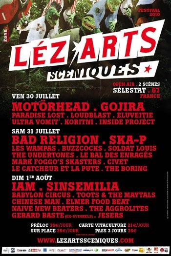 lez'arts sceniques 2010