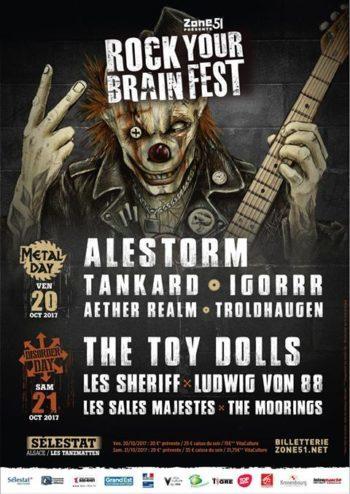 Rock Your Brain 2017 - Selestat - Zone51