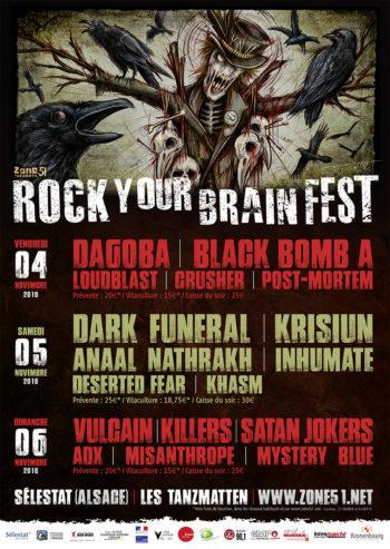 Rock Your Brain 2016 - Selestat - Zone51