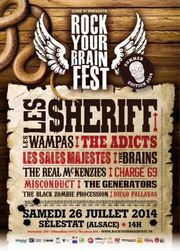 Rock Your Brain Fest 2014 Summer Edition - Selestat - Zone51