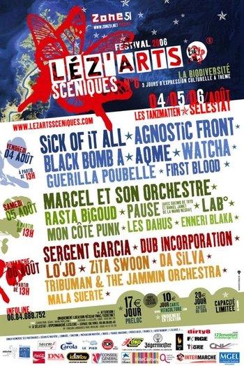 lez'arts sceniques 2006
