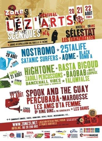 lez'arts sceniques 2004