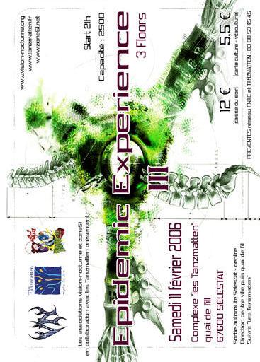 EPIDEMIC EXPERIENCE 2006 ZONE51 SELESTAT