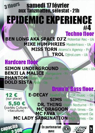 EPIDEMIC EXPERIENCE 2007 ZONE51 SELESTAT