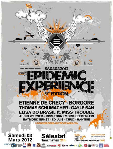 EPIDEMIC EXPERIENCE 2012 ZONE51 SELESTAT