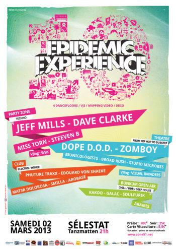 Epidemic Experience 2013 Zone51 Selestat